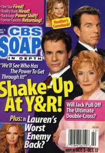 CBS SOAPS IN DEPTH Oct 17 2006 COVER