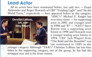 Hollywood Reporter article April 11 2005