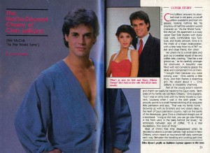 SOAP OPERA DIGEST Dec 18 1984 story