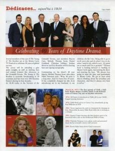 Television Festival of Monte Carlo Y&R 40th Anniversary