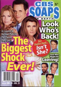 CBS SOAPS IN DEPTH Jan 24 2006 COVER