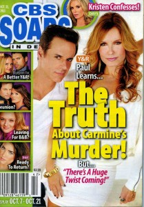 CBS SOAPS IN DEPTH Oct 21 2013 COVER