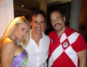 Coco, Ice-T, and Christian