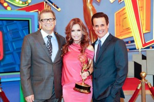 EMMY SHOW Price Is Right Drew Carey and Tracey