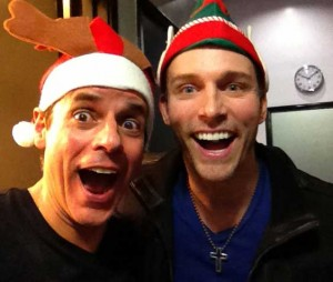 Eric Martsoft and Christian appear in Fred Willard's Santathon