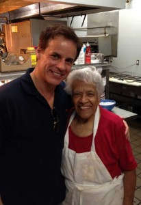 In the kitchen with Leah Chase