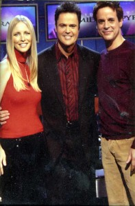 Lauralee Donny Osmond and Christian on the Pyramid