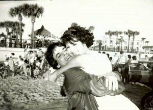 Marisa Tomei on ATWT location at Daytona Beach