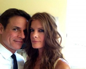 Pre-Emmy photo with Michelle Stafford
