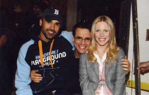 Shemar, Lauralee and Christian at Eric Braeden's 25th anniversary celebration