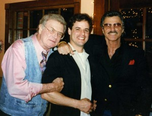 with Charles Nelson Reilly and Burt Reynolds