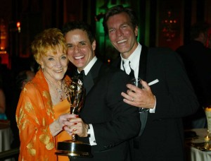 With Jeannie and Peter after Emmy win!
