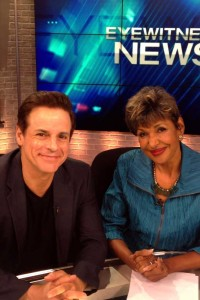 With NOLA WWL anchor Sally Ann Roberts