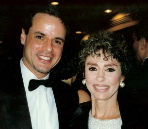 With Rita Moreno at the Emmys