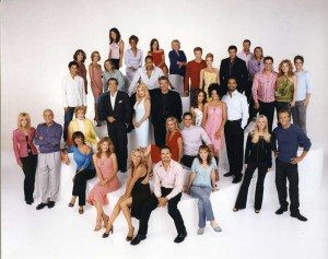 Y&R CAST PHOTO wioth Joan Van Mommy