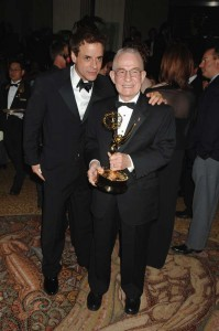 At the Emmy's with Christian's father! 2005