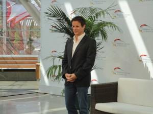 At the Monaco Television Festival