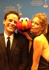 Elmo and Michelle Stafford