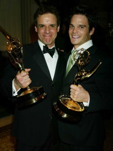 Greg and Christian, BOTH brothers win Emmys 2005