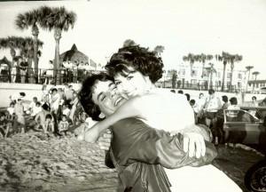 Marisa Tomei on ATWT location at Daytona Beach