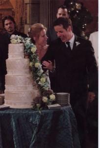 Michael's wedding, Cutting the cake