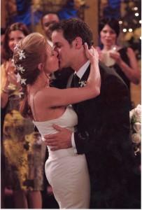 Michael's wedding, First Kiss