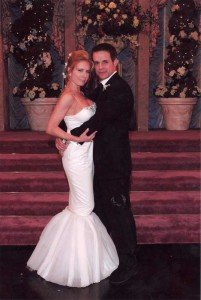 Michael's wedding, the Newlyweds