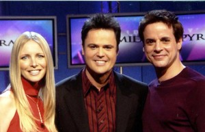On PYRAMID with Donny Osmond and Lauralee Bell