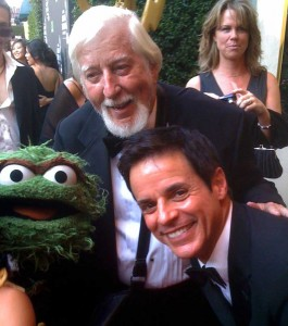 Oscar the Grouch, Carroll Spinney at the Emmys