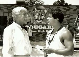 With Dick Van Dyke in DIAGNOSIS MURDER