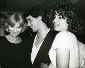 With Eva Marie Saint and Tracey Kolis