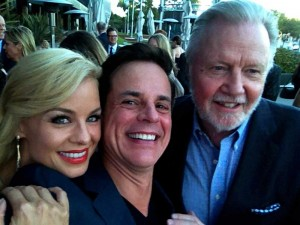 With Jon Voight and Jessica Collins