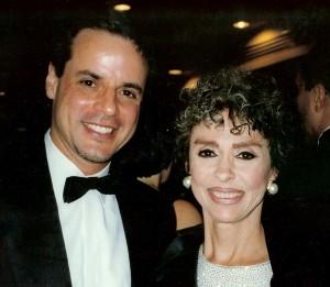 With Rita Moreno at the Emmys