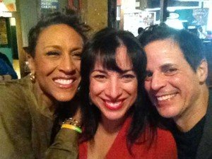 With Robin Roberts and Michelle Miller