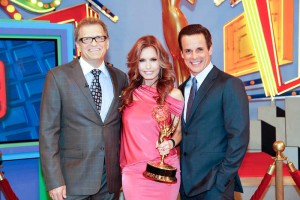 With Tracey and Drew Carey on PRICE IS RIGHT