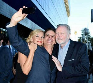 The 2014 ATAS Primetime EMMY cocktail party...with Jon Voight and Jessica Collins
