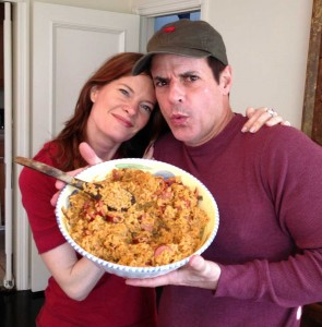 Michelle makes JAMBALAYA!