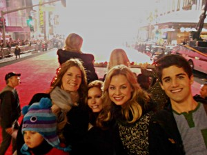 HEADING INTO THE LIGHT (Hollywood Christmas Parade with Natalia, Michelle, Tracey, Jess and Max)