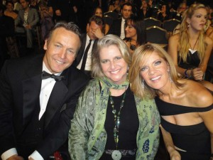 Michelle, Doug and his wife Cindy at the EMMYS